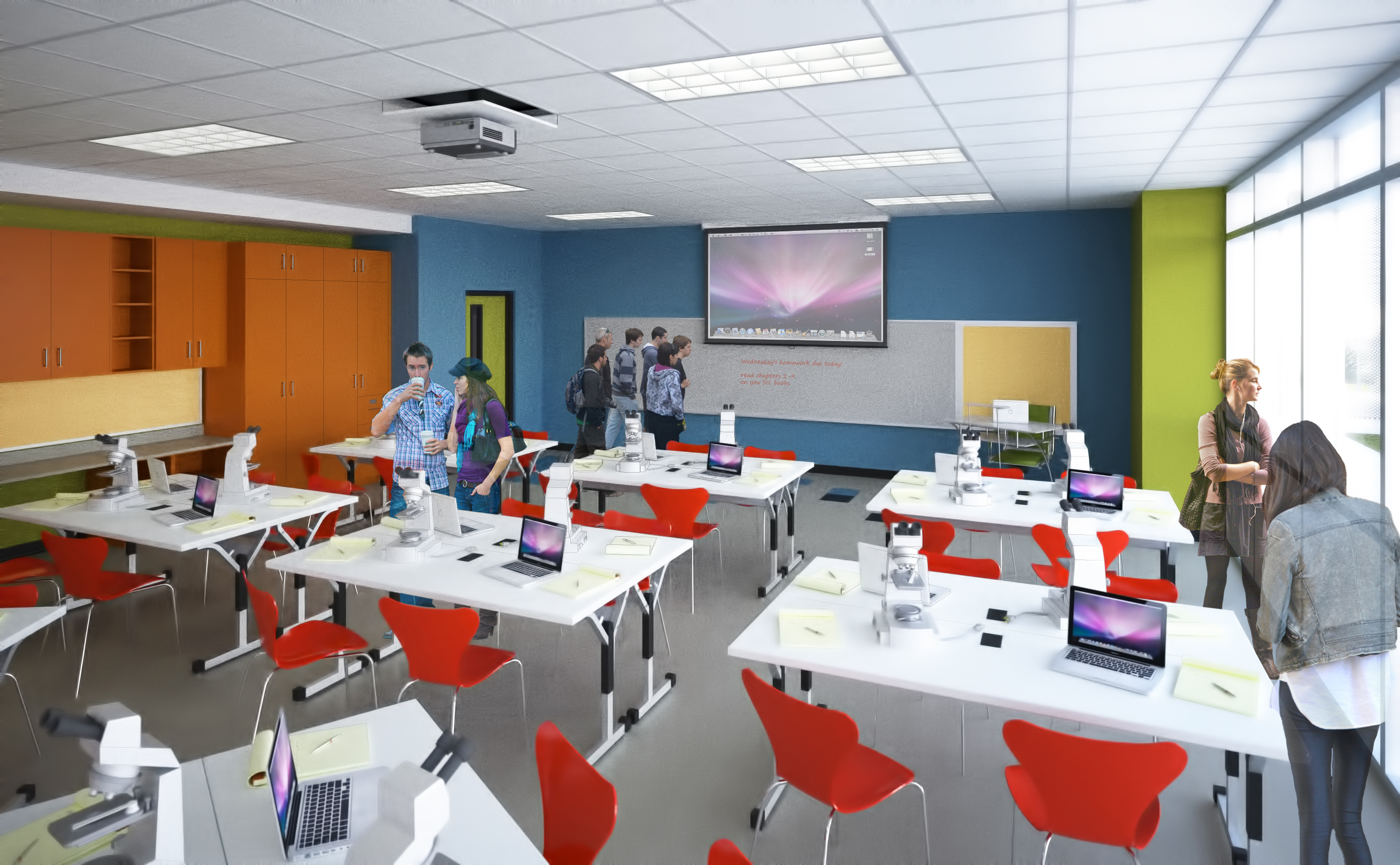 Pictures Of Classroom Furnitures ~ Evolving classrooms for st century learning rgvision