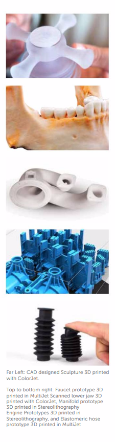 Explore some of the possibilities unlocked by 3D printing!