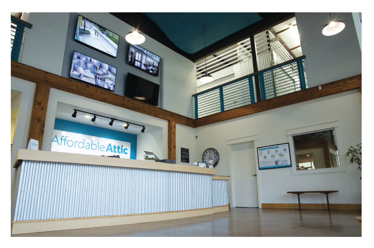 Affordable Attic Highlights Self Storage Outside the Box ...